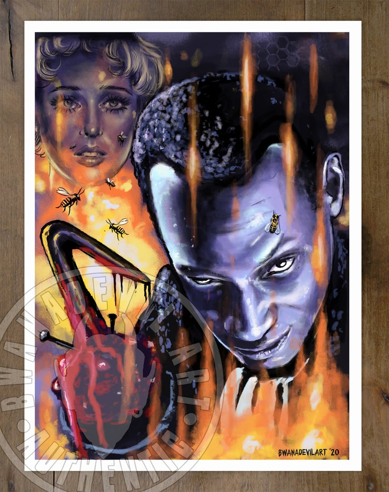Image of The Candyman Art print 9 x 12 in.