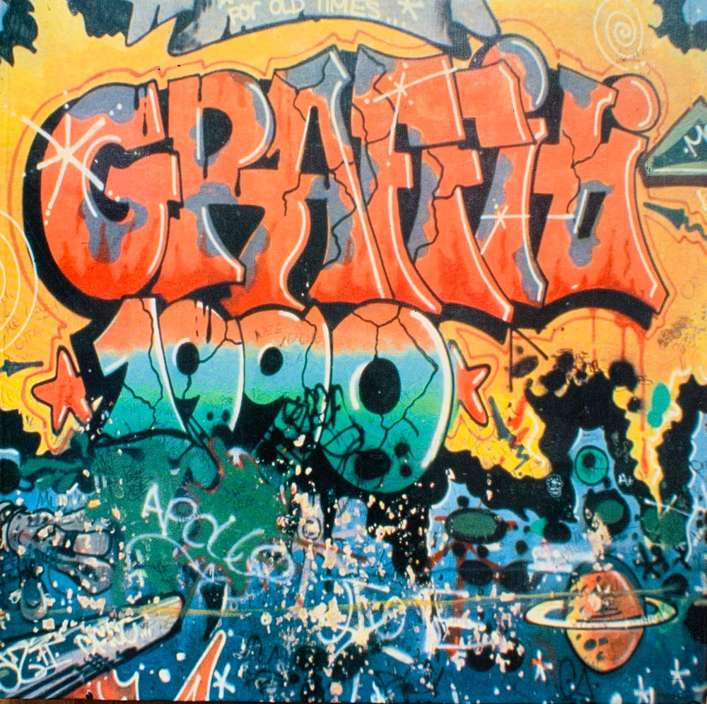 Image of (Paolo Bianchi)(パオロ・ビアンキ)(For Old Times Graffiti)