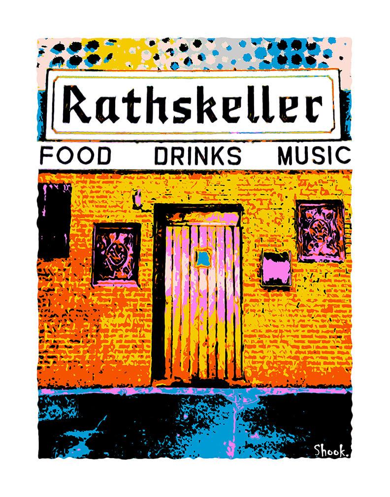 "The Rathskeller Boston Giclée Art Print - 11"" x 14"""