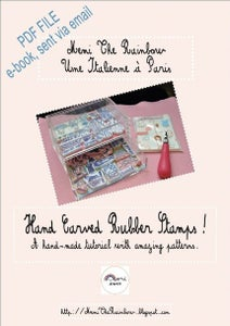 Image of Hand Carved Rubber Stamps Tutorial