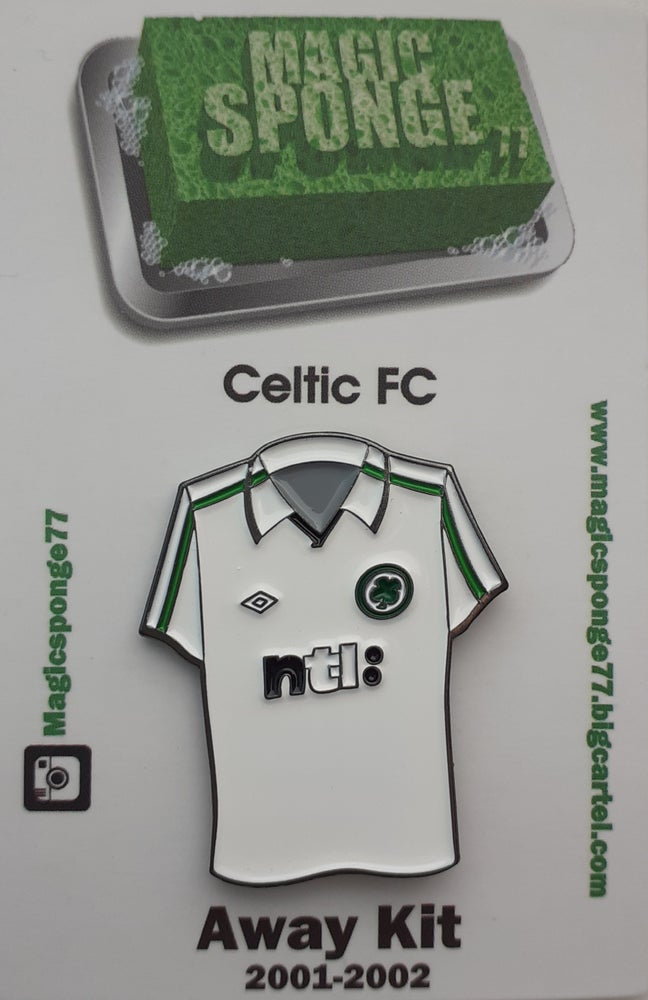 Image of Out Now Celtic FC 2001 Away Kit.