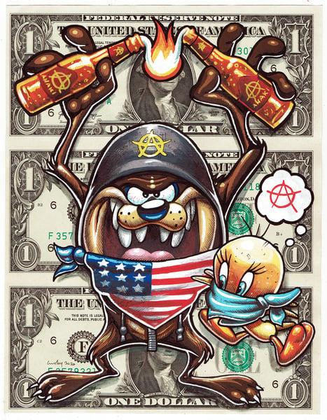 Image of Uncut Dollar Original. Tasmaniantifa.