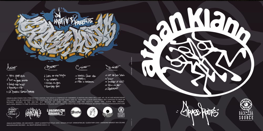 Image of The A.T.B.A.N. Klann - Grass Roots (Album, 2xLP Gatefold Edition + Insert) SOLD OUT