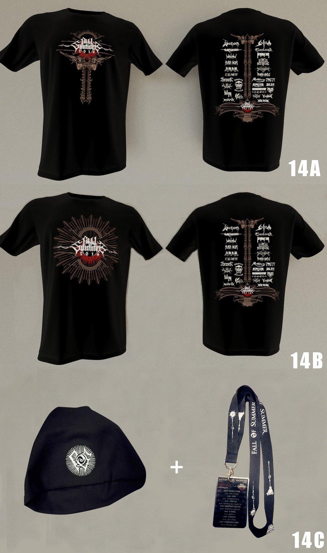 Image of Tee-shirts FoS 2014, Beanie & Lanyard