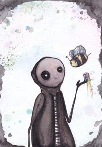Image of The Bee and Me PRINT
