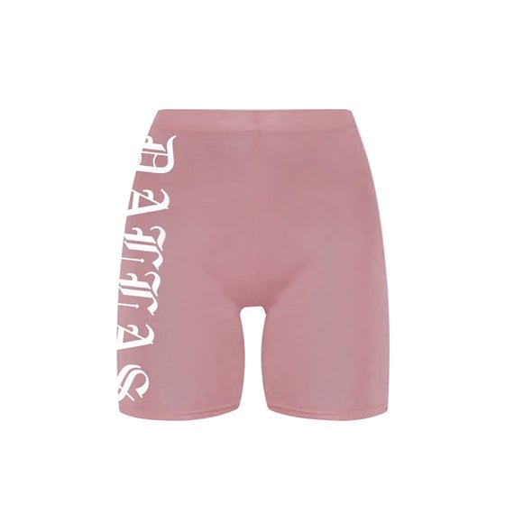 Image of Dallas Mauve Bike Shorts