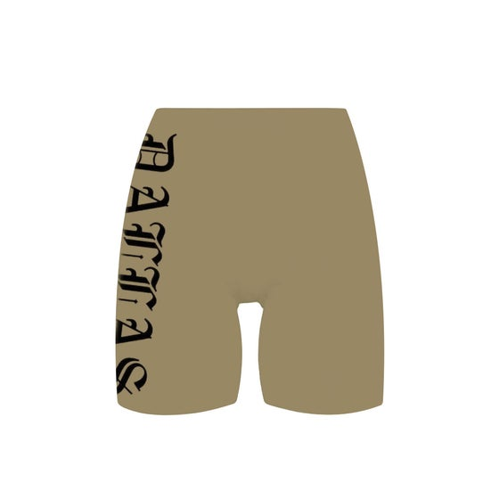 Image of Dallas Khaki Bike Shorts