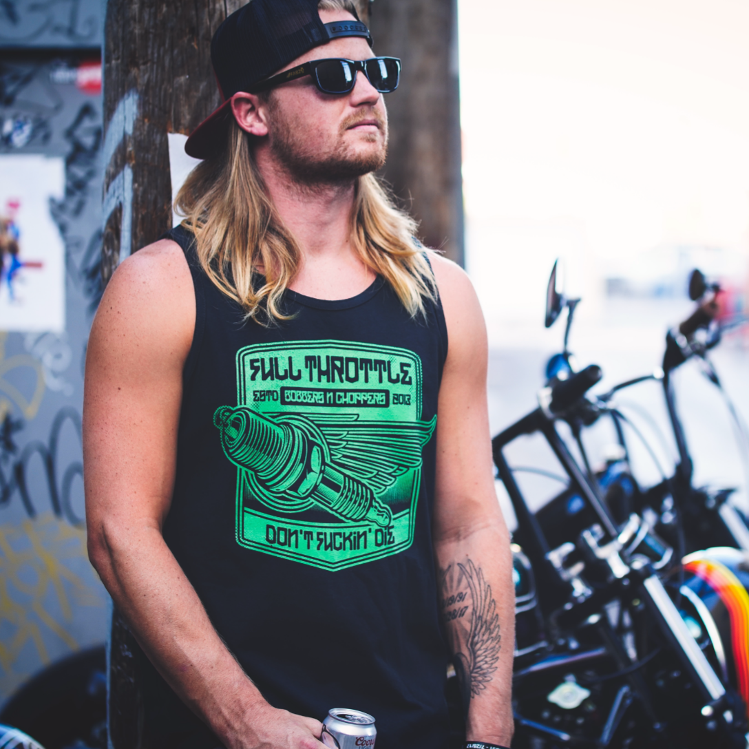 Image of Full Throttle Tank Top