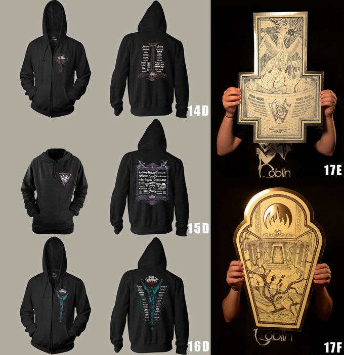 Image of FoS Sweat Shirts 2014, 2015, 2016 & 2017 Screen Printing Poster by Ëmga Laï
