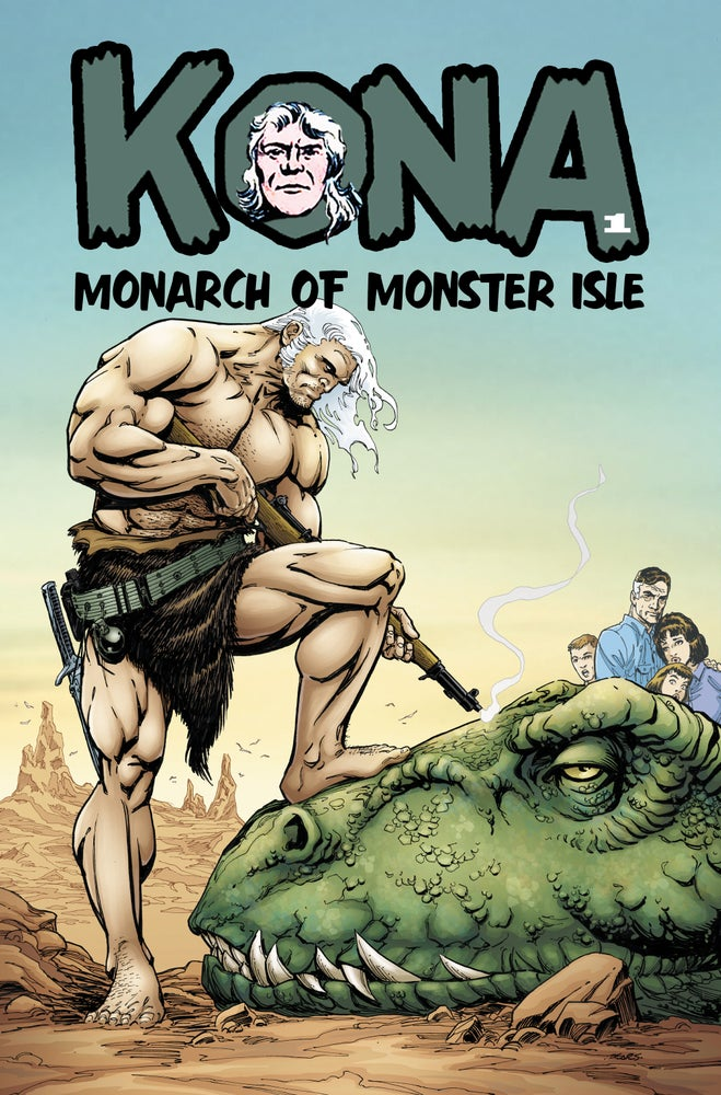 Image of KONA: MONARCH OF MONSTER ISLE #1 (Bart Sears Variant)