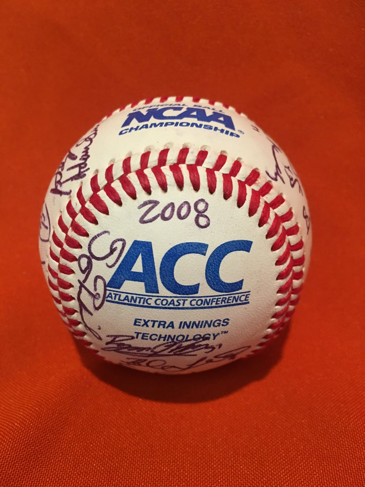 Image of 2008 ACC Champions Team Signed Baseball