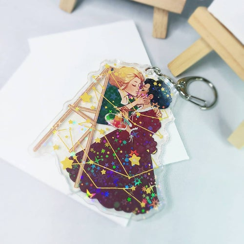 Image of Portrait of a Lady on Fire Charm (Holo)