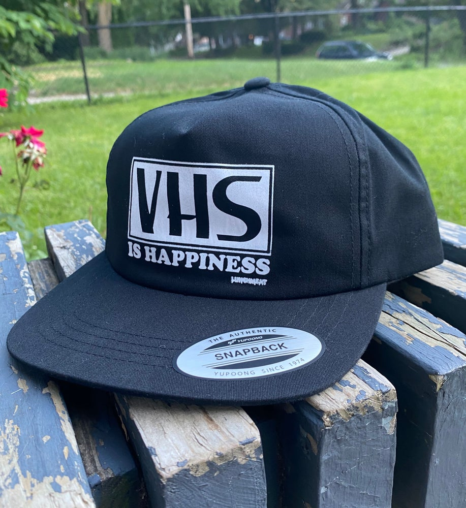 Image of Lunchmeat VHS is Happiness Trucker & SnapBack Hats