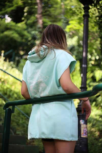 Image of Mint Moth Upcycled Dress