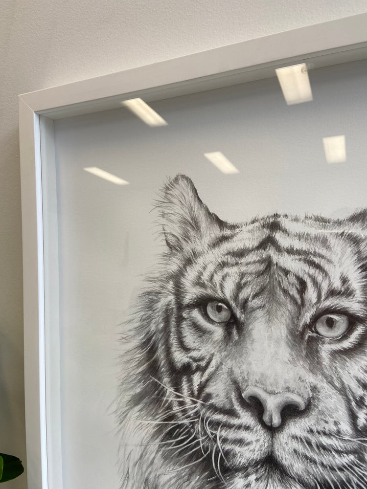 Image of Disappearing Stripes  (Limited Edition Framed)