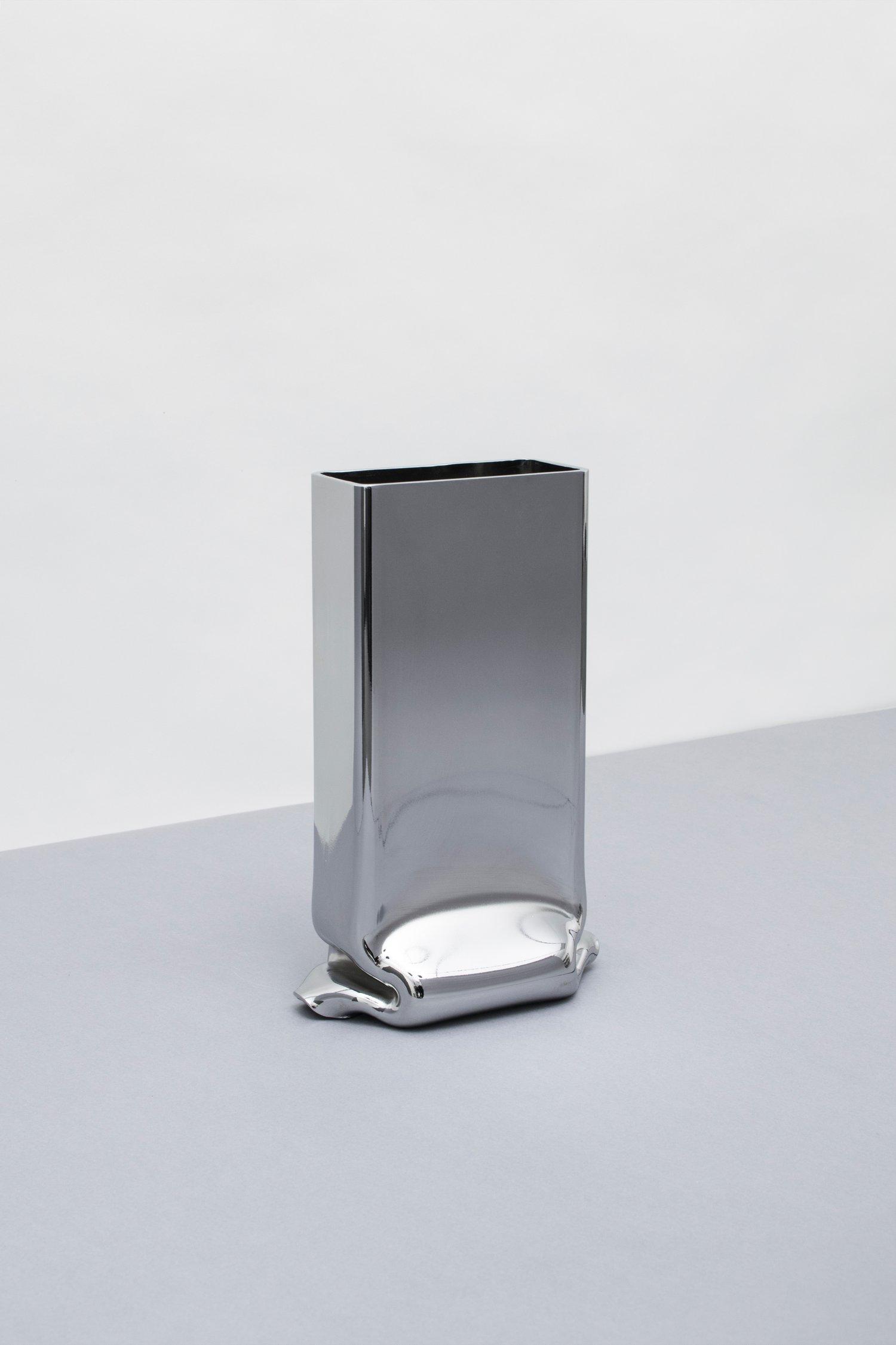 Image of Pressure Vase Rectangular Chrome