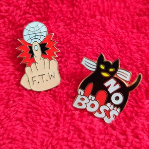 Image of Yubia Polfish pins pack