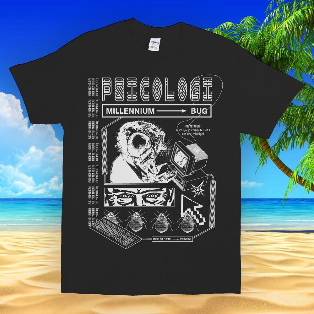 Image of Psicologi: Millenium → Bug T-Shirt (nera)