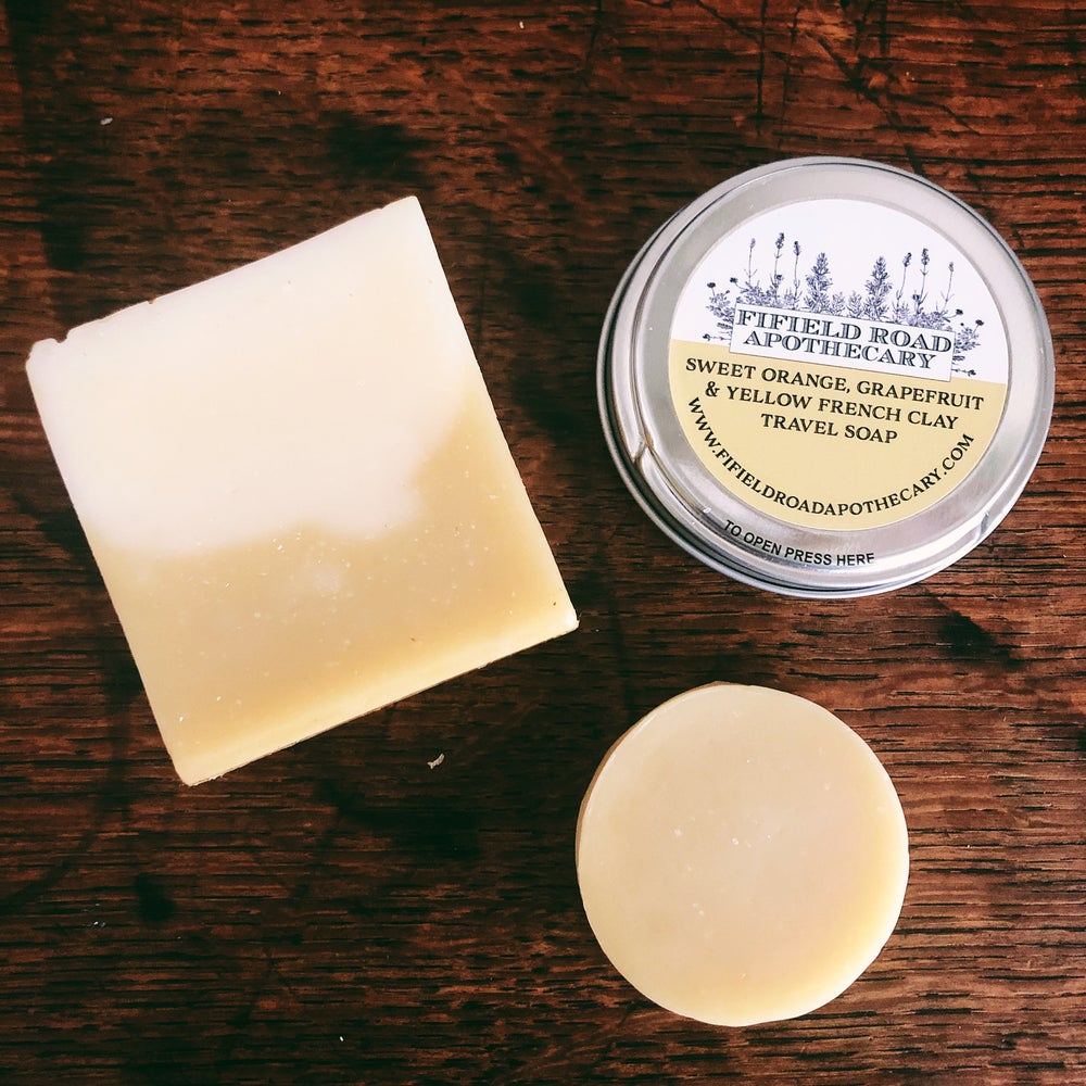 Image of Mini Travel Soap with Reusable Tin