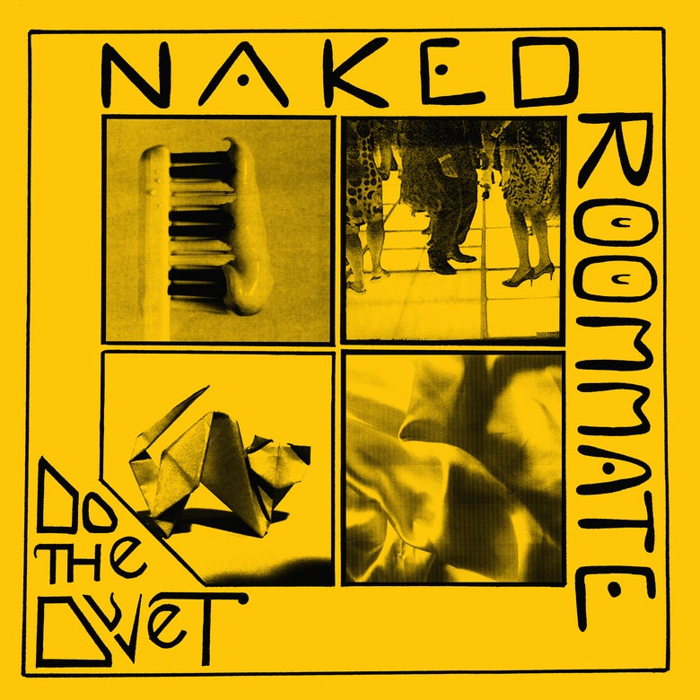 Image of NAKED ROOMMATE - 'Do The Duvet' LP (pre-order)