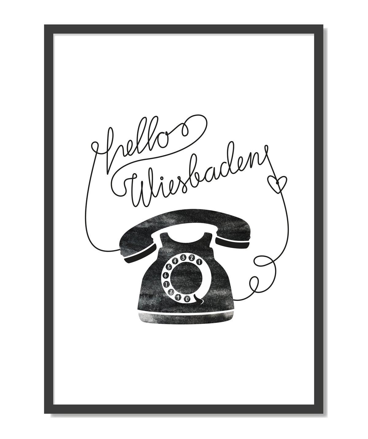 Image of Print: 'Hello World'