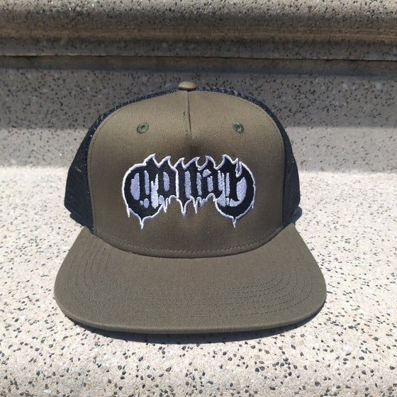 Image of Conan Logo Forest Green Trucker w/ High Density Embroidery ONLY 3 AVAILABLE