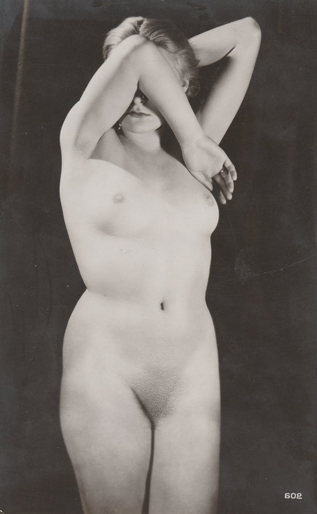 Image of Anonymous: woman with artistic pose, 1935