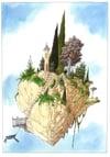 Cloud Tower Print