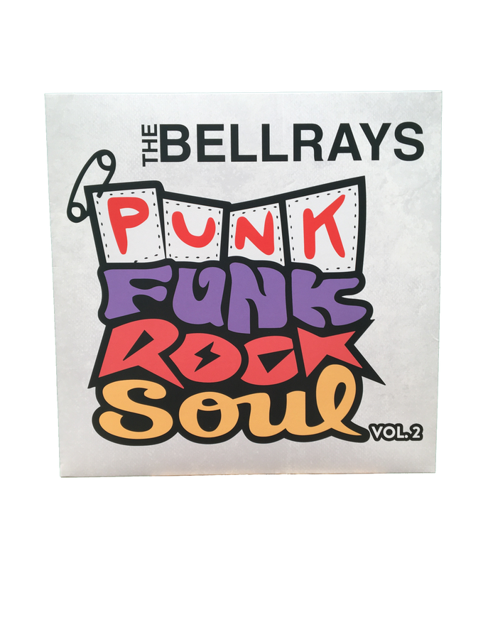 Image of Punk Funk Rock Soul - Vol. 2 Vinyl