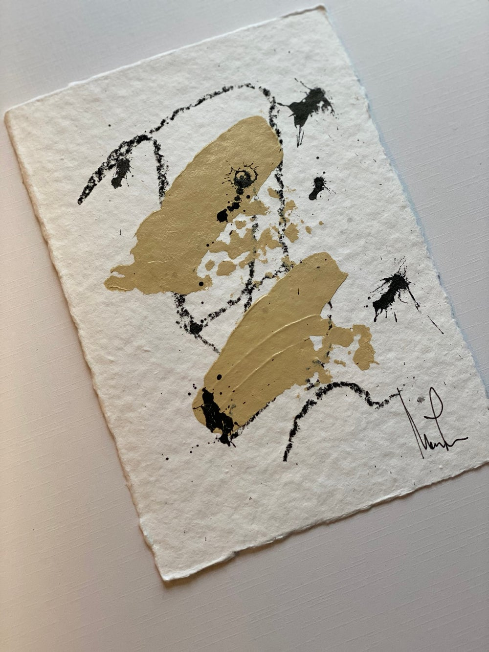 Image of Champagne Cotton Rag Paper Collection (2)