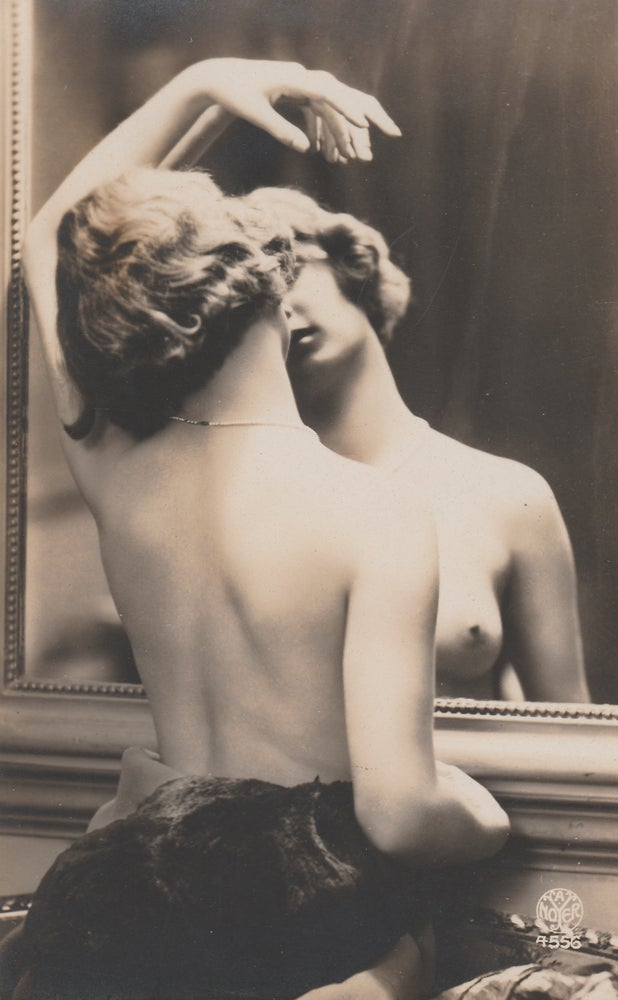 Image of Noyer: woman dancing before mirror, 1920
