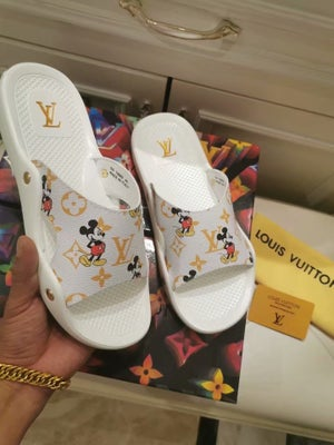 Image of LV Mickey Slides