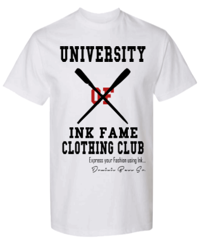 Image of University of Ink Fame Clothing Club Shirt