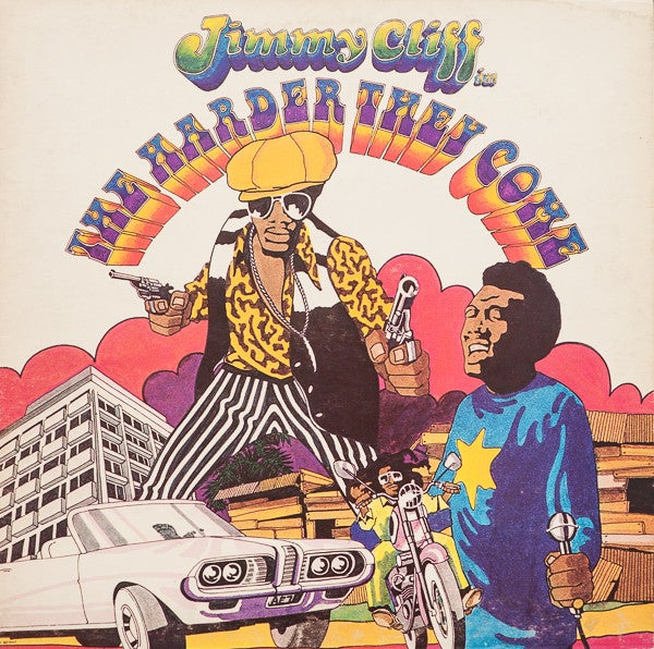 Image of V/A - Original Soundtrack - The Harder They Come LP (Jimmy Cliff)