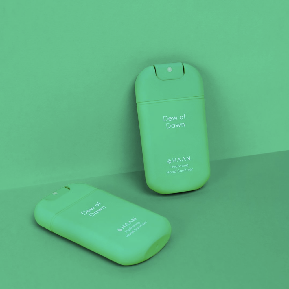Image of Haan pocket hand sanitiser - in 3 fragrances