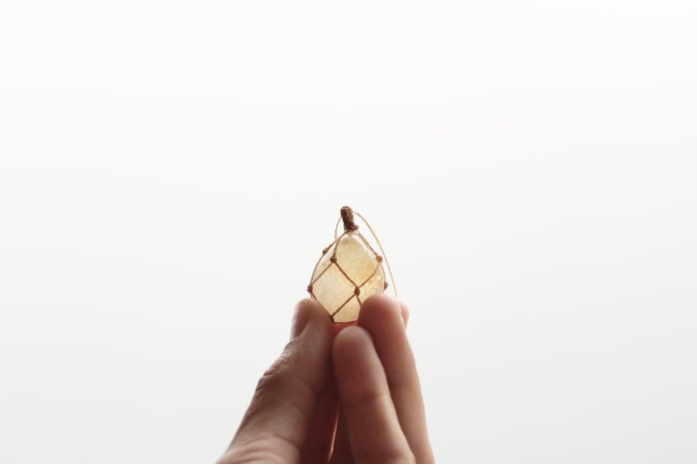 Image of Citrine Quartz pendant