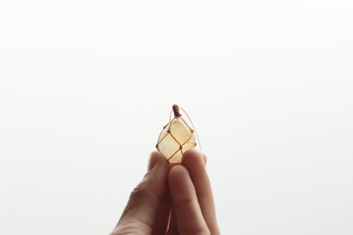 Image of Citrine Quartz pendant