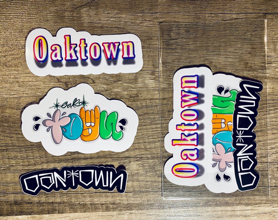 Image of OAKTOWN STICKER PACK