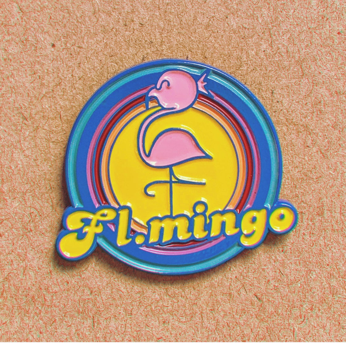 Image of FLMINGO PIN #1
