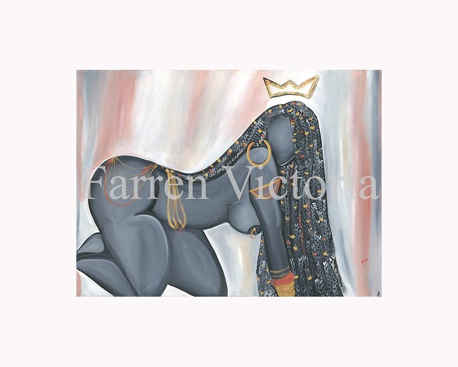Image of V'Nessa Canvas Print
