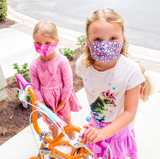 Image of Kids Age 3-6 Fabric Mask (Fabrics 1-64)