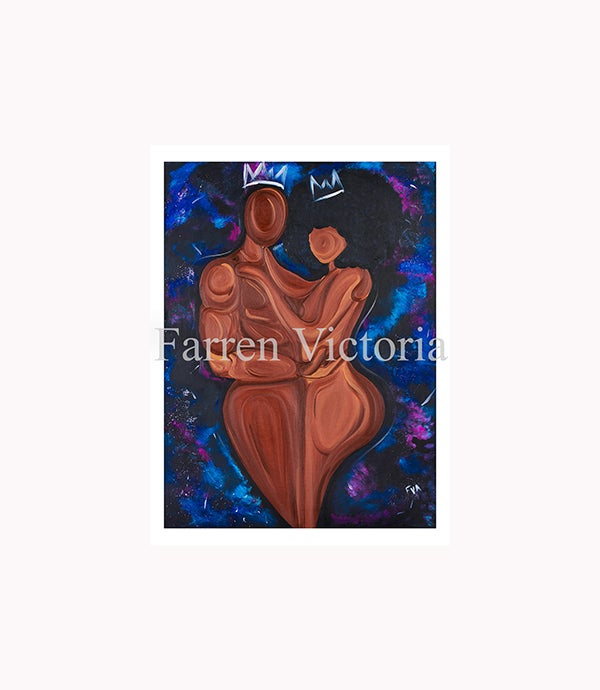 Image of Just Me and You Canvas Print