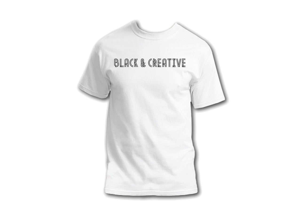 "Image of ""Black & Creative"" T-Shirt."