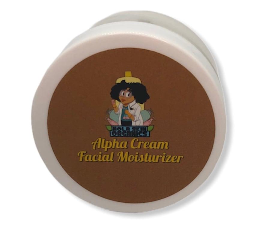 Image of Alpha Cream Facial Moisturizer