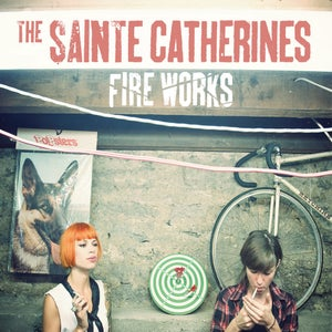 "Image of ALR: 013 The Sainte Catherines ""Fire Works"" LP BLACK VINYL"