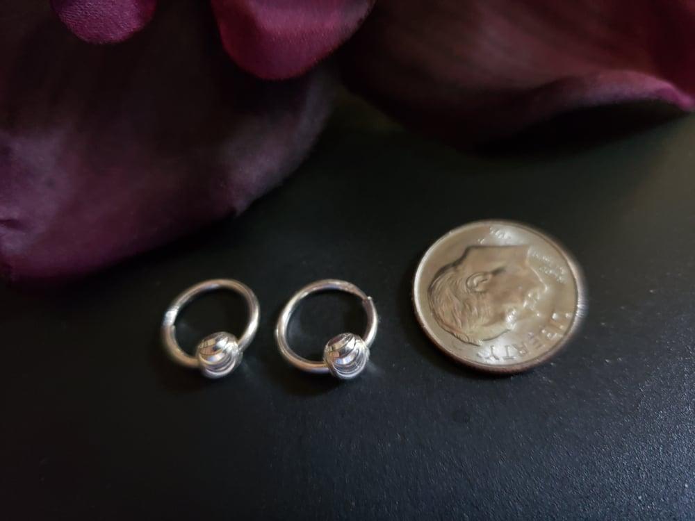 Baby Hoop Earrings