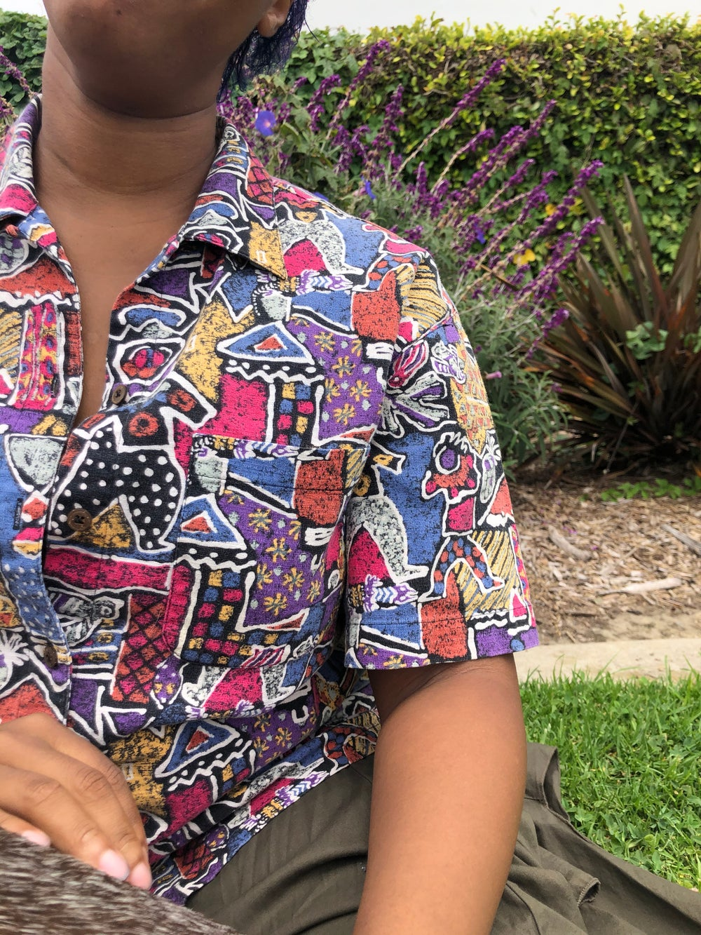 Image of 90s Womens Vintage Patagonia Design Shirt