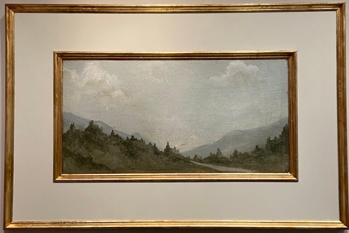 Image of TUSCAN Landscape CREAM 32x48