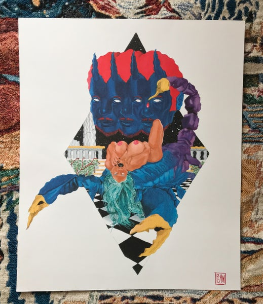 Image of Scorpio ride print