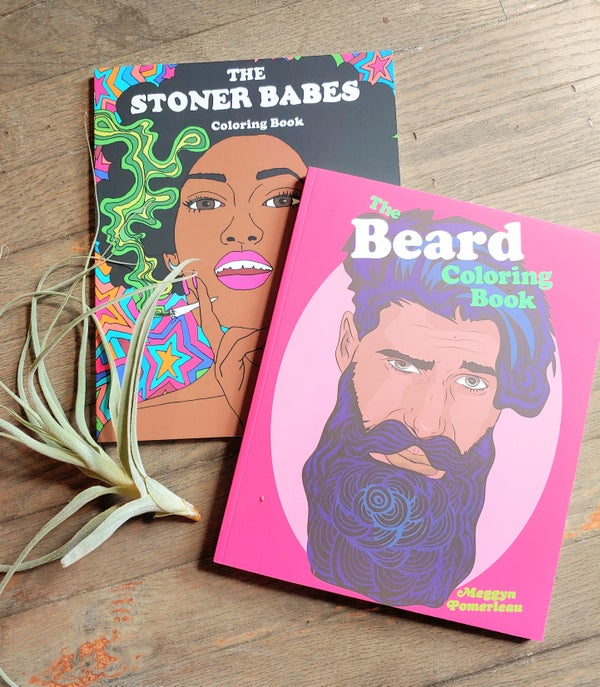 Image of Beard or Babes Coloring Book